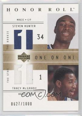 2001-02 Upper Deck Honor Roll #130 - Steven Hunter, Tracy McGrady /1000