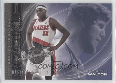2001-02 Upper Deck Inspirations - [Base] #101 - Zach Randolph, Bill Walton /2249