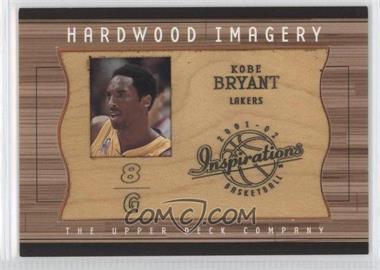 2001-02 Upper Deck Inspirations - Hardwood Imagery #KB - Kobe Bryant
