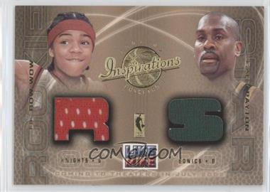 2001-02 Upper Deck Inspirations Like Mike #LBW-GP - Lil' Bow Wow, Gary Payton