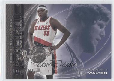 2001-02 Upper Deck Inspirations #101 - Zach Randolph, Bill Walton /2249