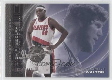 2001-02 Upper Deck Inspirations #101 - Zach Randolph, Bill Walton /2249