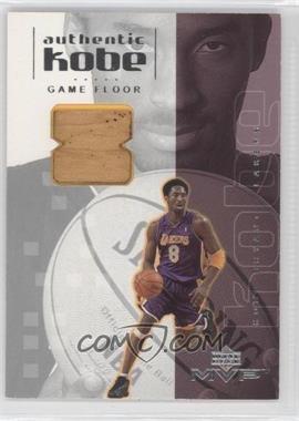 2001-02 Upper Deck MVP Authentic Kobe #KB7 - Kobe Bryant