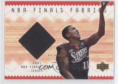 2001-02 Upper Deck NBA Finals Fabrics #RJ-F - Raja Bell