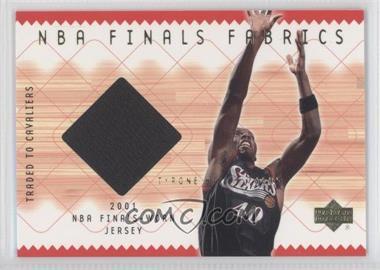 2001-02 Upper Deck NBA Finals Fabrics #TH-F - Tyrone Hill
