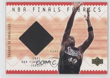 2001-02 Upper Deck NBA Finals Fabrics #TH-F - Tyrone Hill