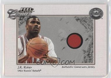 2001 Fleer Greats of the Game Feel the Game Classics #JRRI - Isaiah Rider