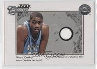Vince Carter (Single Swatch, Blue Jersey, Wristband Not Shoing)