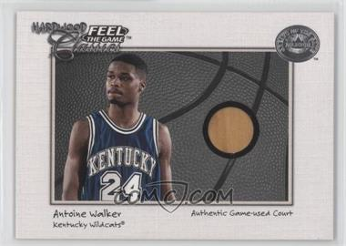 2001 Fleer Greats of the Game Feel the Game Hardwood Classics #ANWA - Antoine Walker