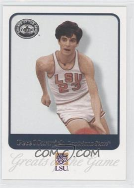 2001 Fleer Greats of the Game #62 - Pete Maravich