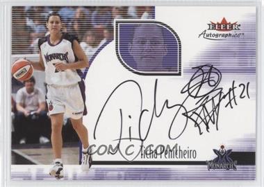 2001 Fleer Ultra WNBA Autographics #N/A - Ticha Penicheiro