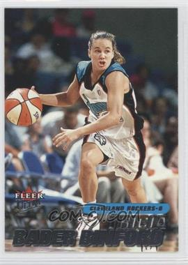 2001 Fleer Ultra WNBA #58 - Travis Bice