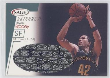 2001 Sage Autographs Platinum #A4 - Bryan Bracey