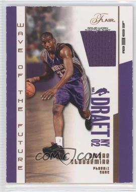 2002-03 Flair - Wave of the Future - Game Used #WOF-AS - Amar'e Stoudemire /100