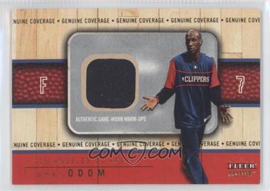 2002-03 Fleer Genuine - Genuine Coverage - Gold #LAOD - Lamar Odom /100