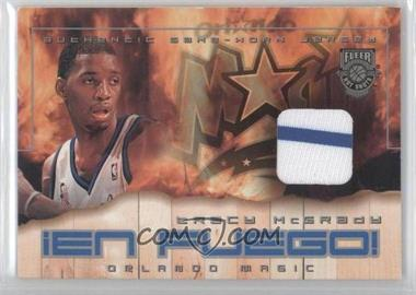 2002-03 Fleer Hot Shots En Fuego Game-Used #TRMC - Tracy McGrady