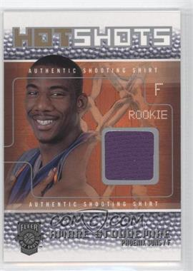 2002-03 Fleer Hot Shots Hot Shots Game-Used Bronze/Silver #AMST - Amar'e Stoudemire