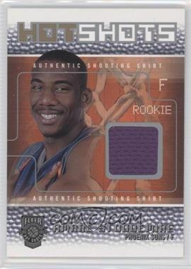 2002-03 Fleer Hot Shots Hot Shots Game-Used Bronze/Silver #N/A - Amar'e Stoudemire