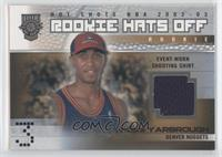 Rookie Hats Off Shooting Shirt - Vincent Yarbrough /350