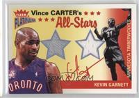 Vince Carter, Kevin Garnett