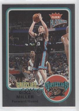 2002-03 Fleer Platinum Finish #68 - Mike Miller /100