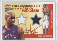 Vince Carter, Dirk Nowitzki /250