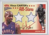 Vince Carter, Jason Kidd /250