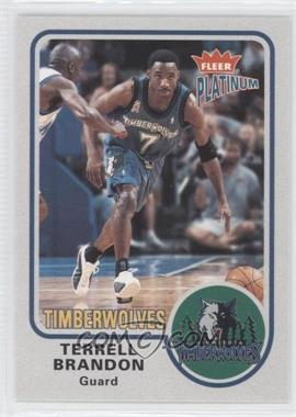 2002-03 Fleer Platinum #78 - Terrell Brandon