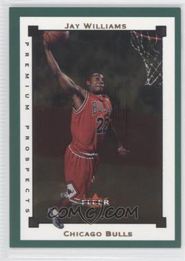 2002-03 Fleer Premium - [Base] - Emerald #EM111 - Jay Williams /300