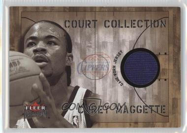 2002-03 Fleer Premium - Court Collection - Ruby #N/A - Corey Maggette /100