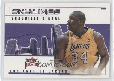 2002-03 Fleer Premium - Skylines - Ruby #2 SL - Shaquille O'Neal /100