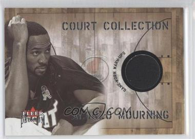 2002-03 Fleer Premium Court Collection #ALMO - Alonzo Mourning