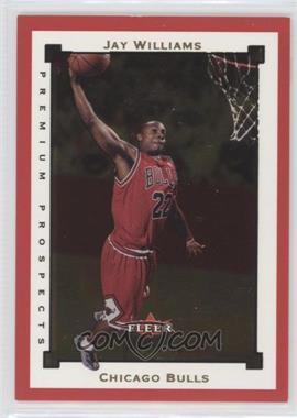 2002-03 Fleer Premium Ruby #SR111 - Jay Williams /100