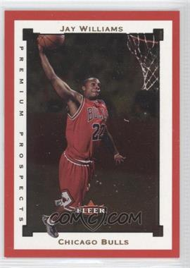 2002-03 Fleer Premium Ruby #SR111 - Jay Williams /100