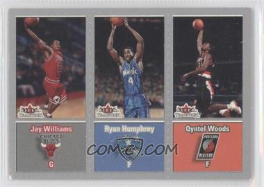 2002-03 Fleer Tradition Crystal #294 - Jason Williams, Ryan Humphrey, Qyntel Woods /199