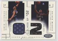Jared Jeffries, Dajuan Wagner /375