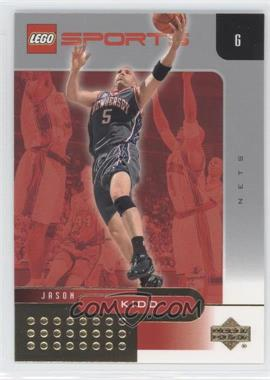 2002-03 Lego Sports - [Base] - Gold Foil #11 - Jason Kidd