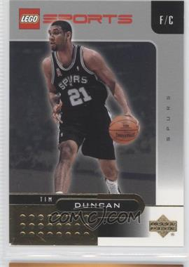 2002-03 Lego Sports Gold Foil #1 - Tim Duncan