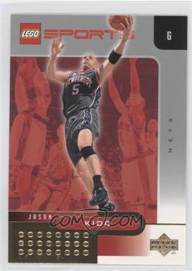 2002-03 Lego Sports Gold Foil #11 - Jason Kidd