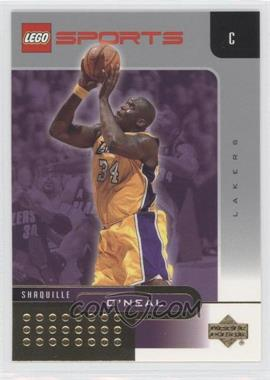 2002-03 Lego Sports Gold Foil #4 - Shaquille O'Neal