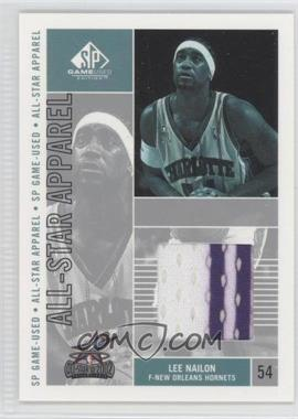 2002-03 SP Game Used Edition - All-Star Apparel #LN-AS - Lee Nailon
