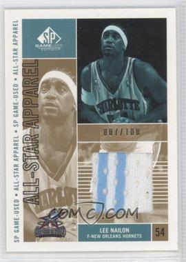 2002-03 SP Game Used Edition All-Star Apparel Gold #LN-AS - Lee Nailon /100