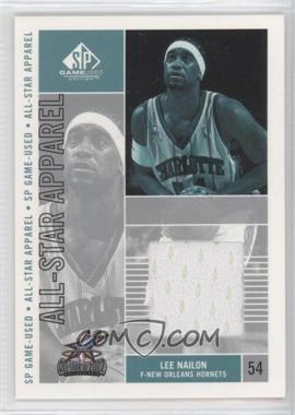 2002-03 SP Game Used Edition All-Star Apparel #LN-AS - Lee Nailon