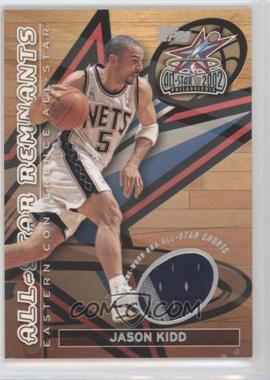 2002-03 Topps - All-Star Remnants Relics #TR-JK - Jason Kidd