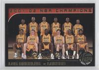 Los Angeles Lakers Team /500
