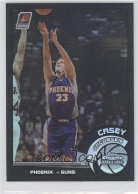 2002-03 Topps Chrome - [Base] - Black Border Refractor #128 - Casey Jacobsen /99