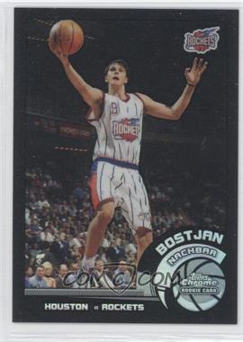 2002-03 Topps Chrome - [Base] - Black Border Refractor #165 - Bostjan Nachbar /99