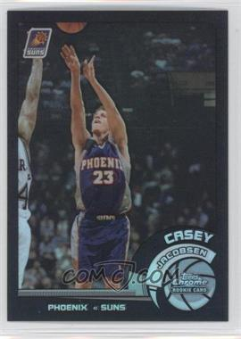 2002-03 Topps Chrome Black Border Refractor #128 - Casey Jacobsen /99