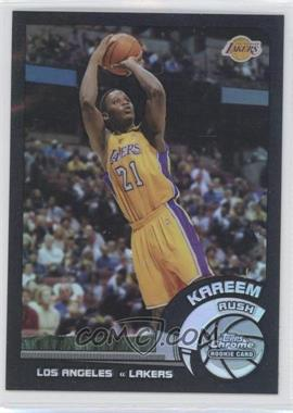 2002-03 Topps Chrome Black Border Refractor #155 - Kareem Rush /99