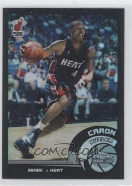 2002-03 Topps Chrome Black Border Refractor #164 - Caron Butler /99